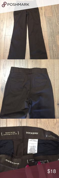 Brown Stretch Trousers👜 Have a khaki feel, comfy Dockers Pants Trousers