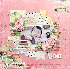 Oct 2014 My Creative Scrapbook Limited Edition kit lo you - Prima - Coffee Break Collection