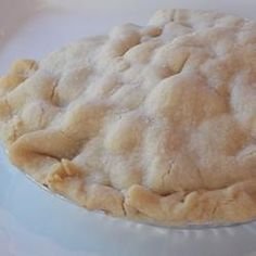 Old Fashioned Flaky Pie Crust ~ This recipe has been handed down for over 80 years