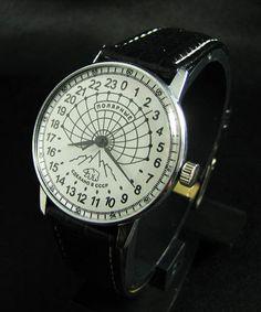 Raketa Vintage Soviet ANTARCTIC POLAR'S 24 Hour Watch