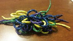 Shoelace Hair Bow by PeanitGallery on Etsy