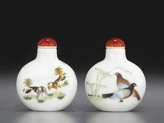A polychrome enameled porcelain snuff bottle Imperial, Jingdezhen kilns, Daoguang mark and of the period, 1821-1850