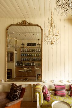 Le Chandelier - East Dulwich.  A great little place serving afternoon tea and a reasonable price.