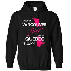 JUST A VANCOUVER GIRL !!! - #aztec sweater #sweater fashion. CHECK PRICE => https://www.sunfrog.com/States/JUST-A-VANCOUVER-GIRL-2000-Black-Hoodie.html?68278
