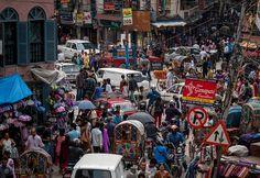 In Thamel (tourist district) Kathmandu, Nepal.