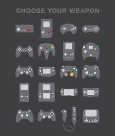Chosse your weapon! by hitfox.de