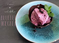 Blueberry Ice Cream für Miss. B ♥