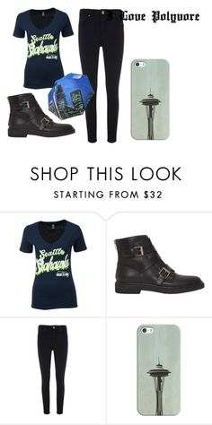 """""""Sleepless In Seattle"""" by beastblade on Polyvore featuring 5th & Ocean, Sergio Rossi, Mint Velvet and Casetify"""