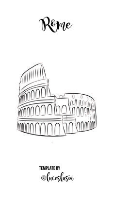 Highlights template by - Rome / Italy / European Cities / Coliseum Instagram Logo, Instagram White, Free Instagram, Instagram Feed, Voyage Rome, City Icon, Buch Design, Insta Icon, Travel Icon