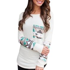 Attention! New product available: Womens Cool Aztec... Come check it out! http://www.shoesity.com/products/womens-cool-aztec-print-long-sleeve-cotton-top?utm_campaign=social_autopilot&utm_source=pin&utm_medium=pin