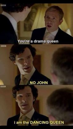 Sherlock dancing Queen