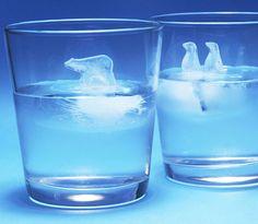 Polar Ice Cube Molds.  I may never use them but I still want them!