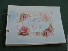 Купить Шебби-свадьба... Фотоальбом. Прованс...Подарок на свадьбу - голубой, свадьба, шебби, шебби-шик
