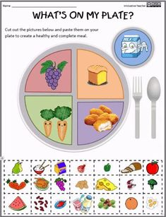 my plate? Healthy Eating Healthy Eatingon my plate? Science Resources, Science Lessons, Teacher Resources, Health Activities, Teaching Ideas, Health Lessons, Preschool Science, Food Science, Classroom Resources