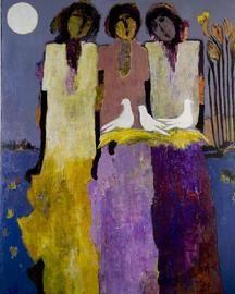 Goli Mahallati at Mary Martin Gallery Charleston SC