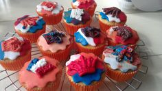 Kingsday cupcakes 2013