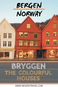 One of the best things to see in Bergen is the famous Bryggen, the colourful houses in Bergen. Check out this guide on how to find them. New Travel, Family Travel, Group Travel, Ultimate Travel, Travel Europe, Norway Facts, Travel Guides, Travel Tips, Visit Bergen