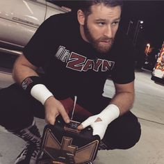 Sami Zayn, the NXT champion Men's Wrestling, Wwe Superstars, Zayn, Hot Guys, Hot Men, Actors, Mens Tops, Balls, Eye Candy