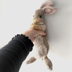 Ravelry: Rabbit pattern by Claire Garland LT - Rabbit by Claire Garland - Free for the next 24 hours. No photo description available. Knitting Kits, Knitting For Kids, Knitting Socks, Knitting Patterns Free, Knit Patterns, Free Knitting, Free Pattern, Doll Patterns, Instagram Gallery