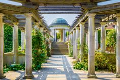 Hampstead Pergola and Hill Garden. This architectural gem can easily be found when you stray away from the tourist trail...