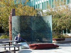 Monument cryptogram in Langley, United States: