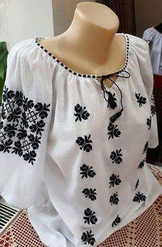 Peasant Blouse, Pakistani Dresses, Goth Girls, Blackwork, Kurti, Ukraine, Costumes, Embroidery, Dracula