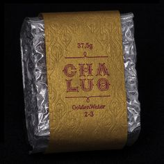 """Thé Oolong """"Golden-Water"""" by Chaluo – Tic-Tac http://www.tic-tac-pop.com/collections/kitchen"""