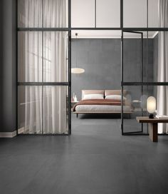 Ritual tiles and floors: raw earth effect porcelain stoneware by Ceramica Sant'Agostino. Background Tile, Room Tour, Interior Inspiration, Interior Architecture, Sweet Home, Creative Design, House, Flooring, Loft