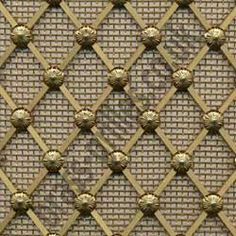 Decorative Woven Wire Regency Brass Decorative Grilles