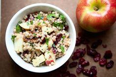 Thanksgiving Recipes : Cranberry apple couscous recipe