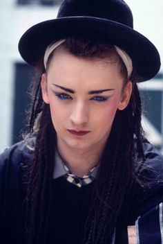 Boy George (George O'Dowd) (June 14, 1961) British singer, songwriter and fashion designer.
