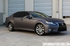 Photos: Matte Grey 2013 #Lexus GS in Miami | Lexus Enthusiast