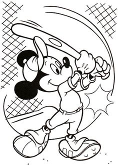 Mickey Mouse Free Printable Coloring Pages Overview 1