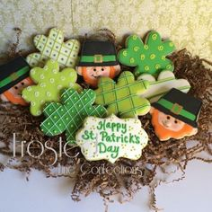 Leprechauns and Shamrocks by Frosted