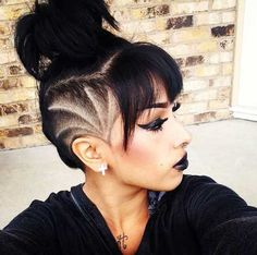 Side Shave Design 37480 110 Best Side Shave Images In 2017 Undercut Hairstyles, Pretty Hairstyles, Shaved Side Hairstyles, Men's Hairstyles, Everyday Hairstyles, Shaved Side Haircut, Wedding Hairstyles, Pinterest Hairstyles, Hair Undercut