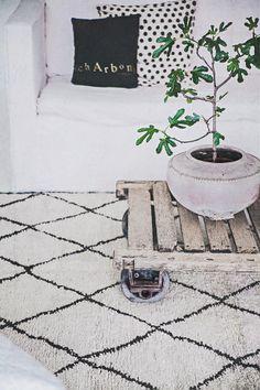 ... beni ourain carpet ... link: http://www.butikenhoganas.com/seanst-nytt.html