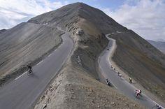 Col de la Bonette,which is the highest point reached by the Tour de France/2008
