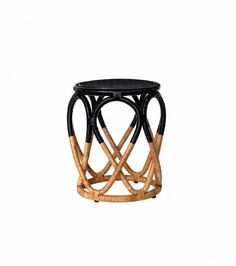 Magical Thinking Luna Rattan Side Table Magical Thinking