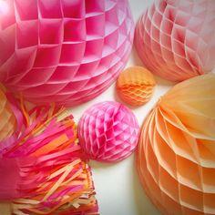 Pen N' Paper Flowers: COLOR INSPIRATION | Pink + Orange Sherbet + Gold