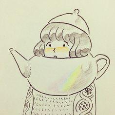 さむいさむい、紅茶飲みたい