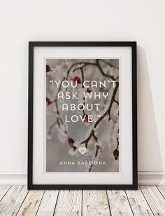 Anna Karenina (Leo Tolstoy) - Joe Wright / Keira Knightley Literary Love Story Trilogy - 12x18 Poster