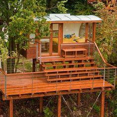 Une cabane en Allemagne avec vue sur la rivière