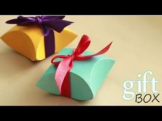 DIY HOW TO MAKE : GIFT BOX EASY DIY IDEA | PAPER ARTS AND CRAFTS.