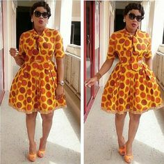 Hello girls, check out these stylish and trendy ankara styles for teenagers and always steal the show like a true fashionista. African Dresses For Women, African Print Dresses, African Print Fashion, Africa Fashion, African Attire, African Wear, African Women, African Prints, African Theme