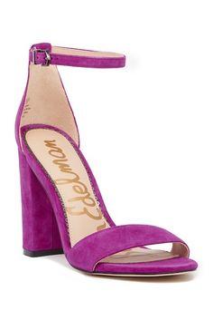91c78c40016 Image of Sam Edelman Yaro Suede Sandal Suede Sandals