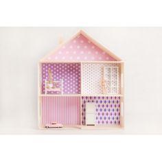 Domek dla lalek - Wzór A