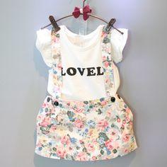 $5.82 (Buy here: https://alitems.com/g/1e8d114494ebda23ff8b16525dc3e8/?i=5&ulp=https%3A%2F%2Fwww.aliexpress.com%2Fitem%2F2PCS-2016-Kids-Girls-T-shirt-Floral-Skirt-Overalls-Dress-Outfits-Bib-Overalls-Kids-Clothes-Newborn%2F32693559354.html ) 2PCS 2016 Kids Girls T-shirt Floral Skirt Overalls Dress Outfits Bib Overalls Kids Clothes Newborn Baby Toddler infant Overalls for just $5.82