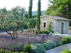 Shed Plans - mediterranean garden with lots of lavender Plus - Now You Can Build ANY Shed In A Weekend Even If You've Zero Woodworking Experience! Mediterranean Garden Design, Tuscan Garden, Italian Garden, Dry Garden, Garden Trees, Garden Pool, Provence Garden, Provence France, Xeriscaping