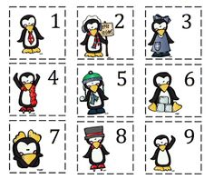 Preschool Printables: Penguin