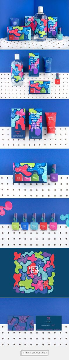 - Bath products, Beauty Kanvas is a branding and packaging concept created for the Design Bridge D&AD New Blood Brief. designed by Anna Rising Design Social, Web Design, Corporate Design, Creative Design, Logo Design, Cool Packaging, Beauty Packaging, Brand Packaging, Gift Packaging